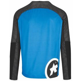 ASSOS Trail Longsleeve Jersey Heren, blauw/zwart